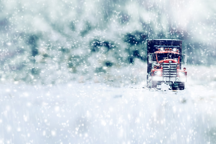 Winter Truck Driving Tips