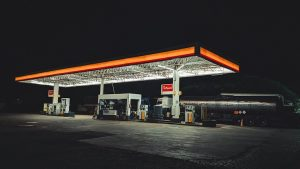 an empty gas station 3602009