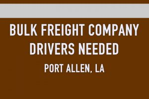BULK FREIGHT COMPANY DRIVERS NEEDED