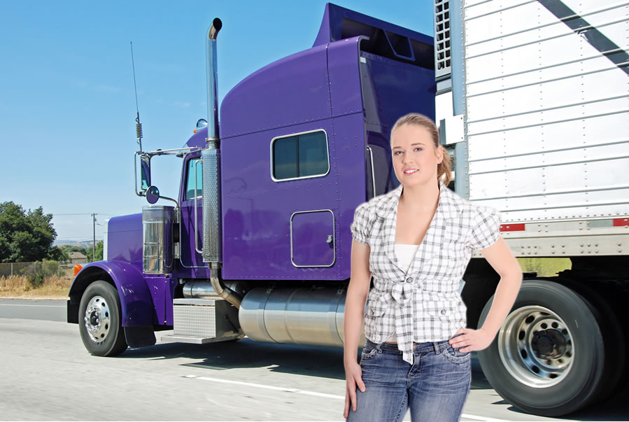 Insider's Look: The Life of Female Truckers