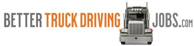 Better Truck Driving Jobs