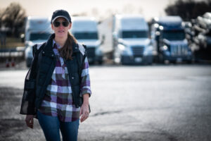 Women in Trucking Growing Demand